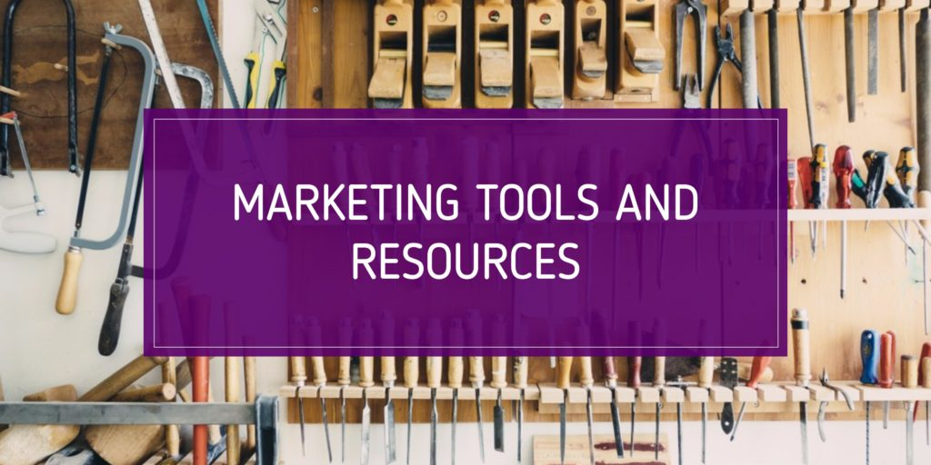 marketing tools and resources