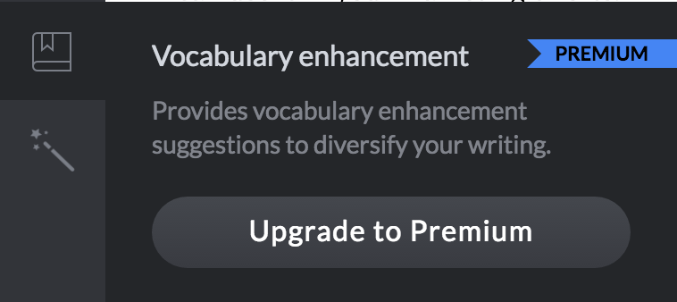 grammarly vocabulary enhancement