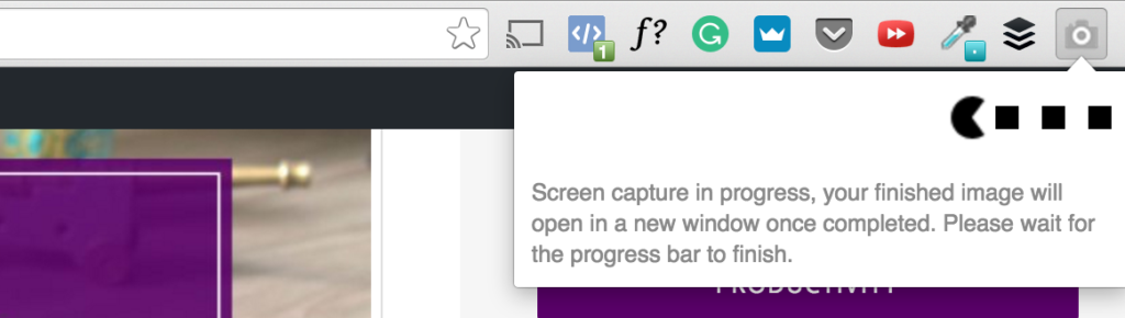full page screen capture chrome extension