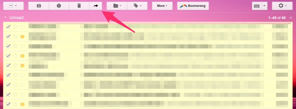 multiforward for gmail chrome extension