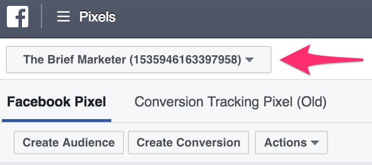 facebook pixel account check