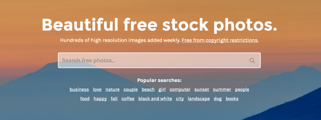 stock snap stock photos